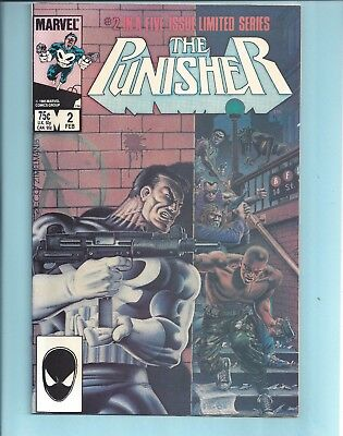 The Punisher #2 Nm Limited Series (1986)