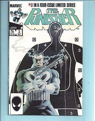 The Punisher #3 Nm Limited Series (1986)