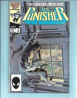 The Punisher #4 Limited Series 1986 Nm