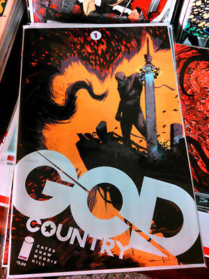 GOD COUNTRY #1 1st print Cover B Image Walking Dead Redneck #1B