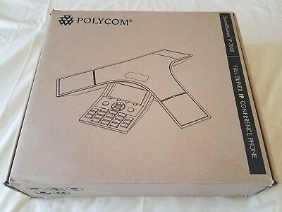 Polycom SoundStation IP 7000 VoIP Conference Phone PoE with Power Kit  - NEW
