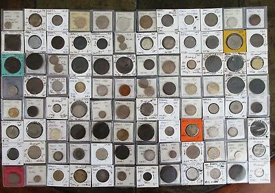 99 Old Brazil Coins (Ex-Dealer Stock) Nice Collectibles > See Images > No Rssrv