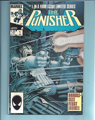 The Punisher #1 Nm- Limited Series (1986)