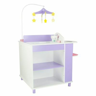 Little Princess Baby Changing Station with Storage Doll Furniture - Olivia's Lit