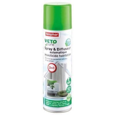 BEAPHAR Spray insecticide Vetopure - Pour chien et chat - 250ml