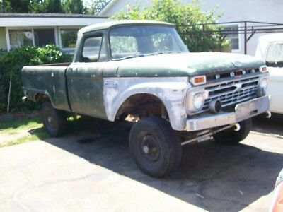 1964 Ford F-100  1964 Ford F-100 4x4 project truck