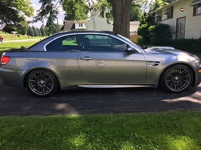 2008 BMW M3 M3 Hardtop convertible 2008 BMW M3 Gray Hard Top Convertible Absolute Steal!!!!!