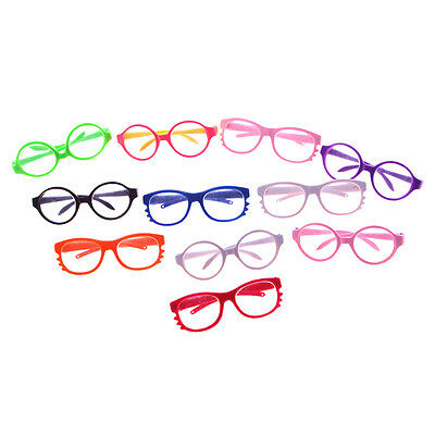 1PC Doll Glasses For 18 Inch Doll Toy Cloth Doll Wear Handmade Outdoor Tool Pro