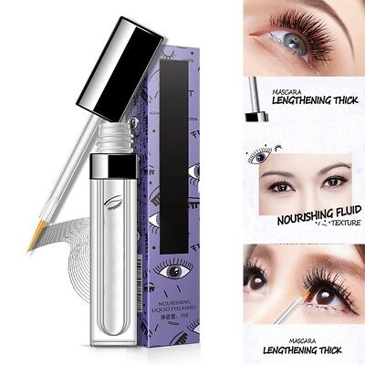 Newly Eyelashes Nourish Slender Eyebrow Curling Thick Growth Liquid Makeup