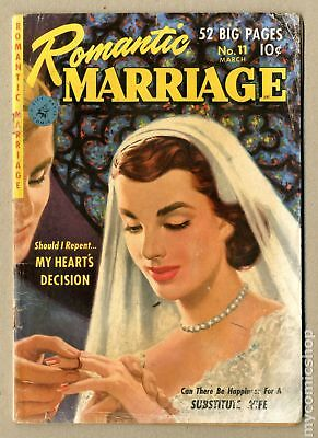 Romantic Marriage (1950) #11 GD+ 2.5