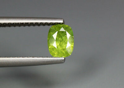 0.68 Cts_Stunning Very Rare Collection_100 % Natural Demantoid Garnet - Russia