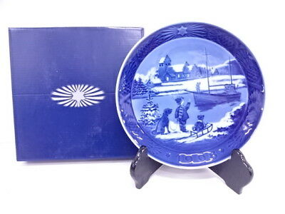 3207752: Royal Copenhagen 1998 ANNUAL PLATE Welcome Home