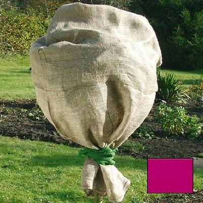 Jute Protection Bag 141353 Red 60 x 80 CM Winter Protection Plant Protection