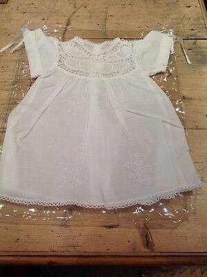 Baby Girl's Handmade Lace Dress. Never Worn. Newborn