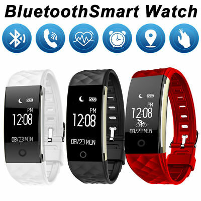 Waterproof GPS Smart Wristband Watch Smart Bracelet Sport Fitness Tracker Heart