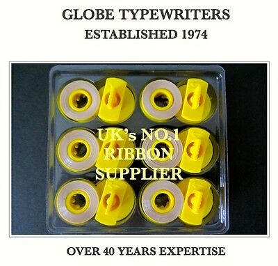 *box Of 6* Compatible Lift Off Tapes For Brother Ax-100 Electronic Typewriter