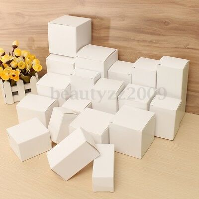 White Shipping Boxes Small Medium Large Storage Postal Cake Party Gift Cardboar