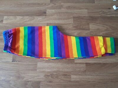 rainbow handmade leggings 12 to 18