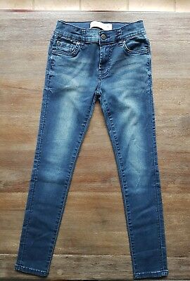 girls size 10 just jeans skinny jeans