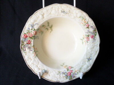Crown Ducal. Florentine. Rosalie. Dessert Bowl. (17cm). Made In England.