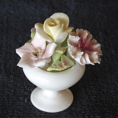 Small Vintage Coalport Floral Bouquet Bone China Made In England #19