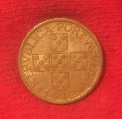 1972 Portugal 20 Centavos minimally circulated condition & highly collectable