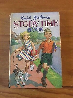 STORYTIME BOOK  by ENID BLYTON - Dean & Son No 1 1st EDITION 1964