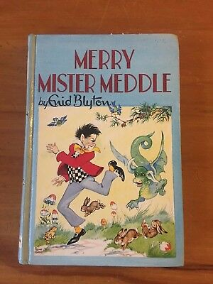 MERRY MISTER MEDDLE by ENID BLYTON - Dean's Classics Series No 28