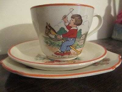 Shelley Cup Saucer and Plate