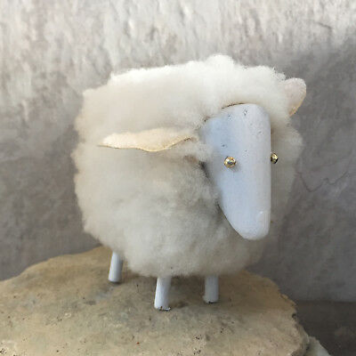 Navajo - Native American Art -WHITE SHEEP - Native American Folk Art