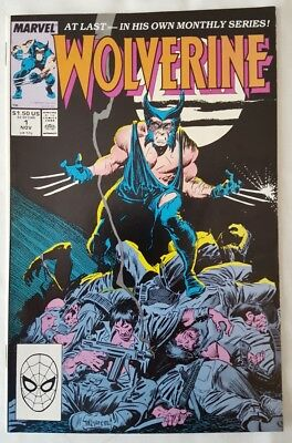 Wolverine vol 2 #1_Ongoing series_VF/NM