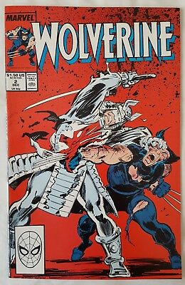 Wolverine vol 2 #2_ VFN/NM condition