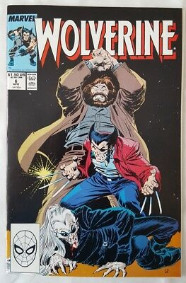 Wolverine vol 2 #6_VFN/NM condition
