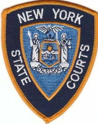 """Historisches """"New York State Courts"""" Patch"""