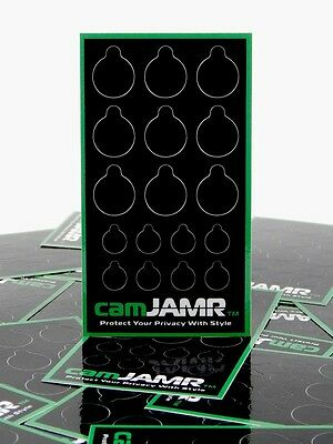 Webcam Covers. Protect Online Privacy. camJAMR Covert Pack