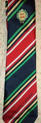 Stradey Park 1872-2008 Commemorative Tie. Rugby Llanelli Scarlets.