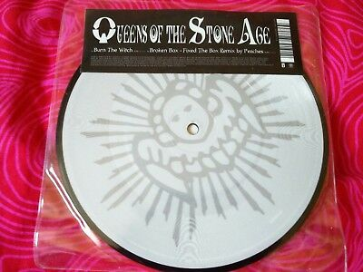 """Queens of the stone age burn the witch 7"""" vinyl picture disc new"""