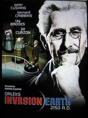 16mm Feature Film - (Dr. Who), 'Dalek's Invasion of Earth 2150 A.D., P. Cushing