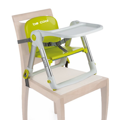 Becool Dip Fold Away Highchair/ Booster Seat For Table In Pistachio
