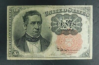 1874 United States 5cent Fractional Note! AUCTION!