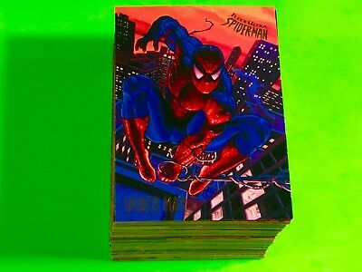 SPIDERMAN 150 Cards Set 1995 Marvel Fleer Ultra