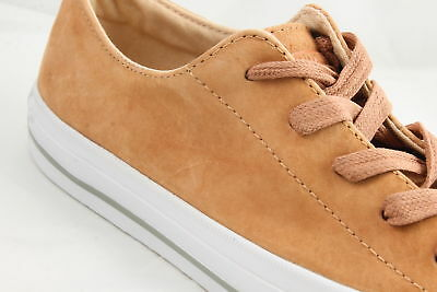 Womens Converse Ctas Gemma Low CAMEL IVORY SUEDE Trainers Shoes *Ex Display*