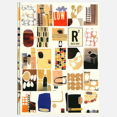 """OFFICIAL REX RAY COLLECTION STORE - Rex Ray """"THE PAPER COLLAGES"""" Book. RARE"""