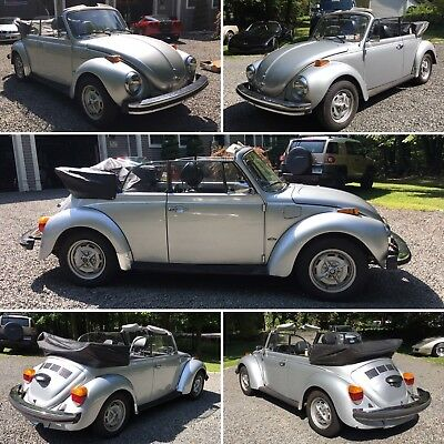 1979 Volkswagen Beetle - Classic Karmann 1979 Volkswagen Karmann Beetle convertible with only 73,065 original miles!