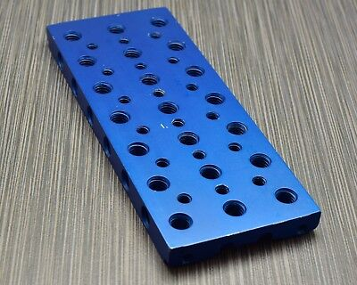 Element Technica Blue Top Cheese Plate Red Compatible 15mm & 19mm Rods  (#2014)