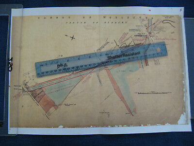 TITFORD CANAL SHEET No.2 PARISH OF OLDBURY BLACK COUNTRY PLAN MAP 5