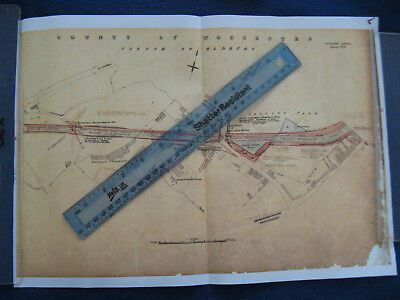 TITFORD CANAL SHEET No.3 PARISH OF OLDBURY LANGLEY BLACK COUNTRY PLAN MAP 8