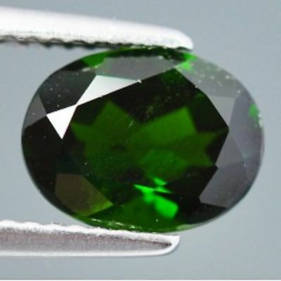 2.05 Cts Sparking Rare Russian Green Natural Chrome Diopside Gemstones