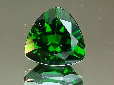 Very Rare 2.27 CTS SPARKING RARE RUSSIAN GREEN NATURAL CHROME DIOPSIDE GEMSTONES