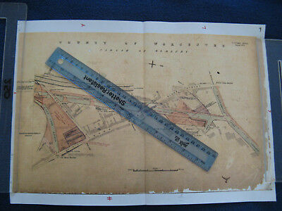 TITFORD CANAL SHEET No.5 PARISH OF OLDBURY LANGLEY BLACK COUNTRY PLAN MAP 9